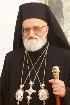 Seine Seligkeit Gregorios III. Laham Griechisch-Melkitisch katholischer Patriarch von Antiochien und dem Ganzen Orient